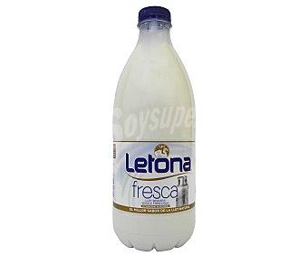 Letona Leche Fresca Entera Botella 1,5 litros