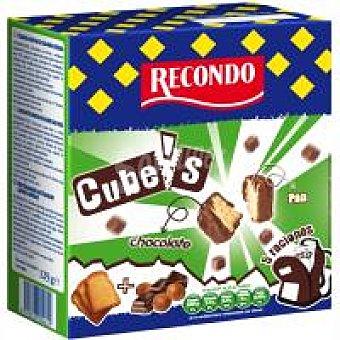 Recondo Cube`s de chocolate-avellana Caja 125 g