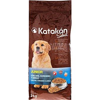 KATAKÁN Alimento para perros Select Junior con ave, cordero y arroz  Bolsa 2 kg