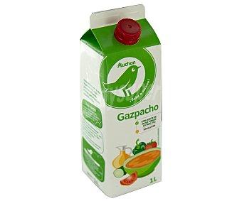 Productos Económicos Alcampo Gazpacho elaborado con aceite de oliva virgen extra y sin gluten 1 l