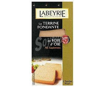 Labeyrie Terrina de Pato con Hígado de Oca y Sauternes 80g