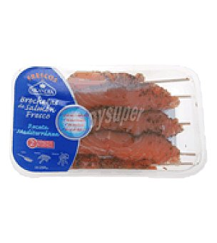 Skandia Brochetas de salmón Bandeja de 250 g