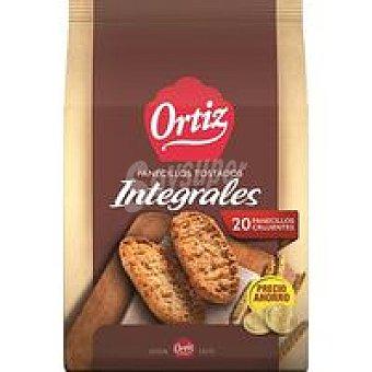 Ortiz Panecillo integral Paquete 225 g + 20%