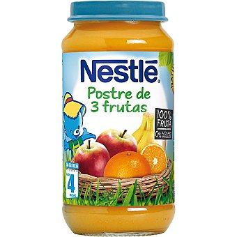 Nestlé Tarrito postre de 3 frutas Envase 250 g