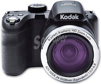 """KODAK AZ421 Cámara Bridge 16 Megapixeles de Alta definición, pantalla de 3"""", 42x de zoom"""