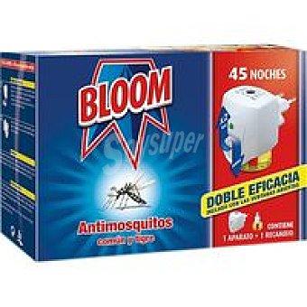 Bloom Antimosquitos eléctrico 45 noches Aparato + recambio