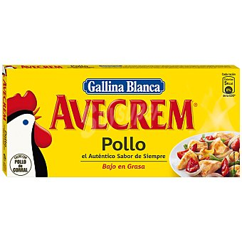Gallina Blanca Caldo de Pollo Avecrem  24 Pastillas