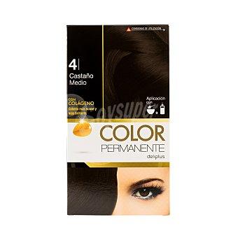 Deliplus Tinte coloracion permanente Nº 04 castaño u
