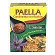 Sazonador para paella con azafrán sin gluten Pack de 5 sobres de 10 g Sabater