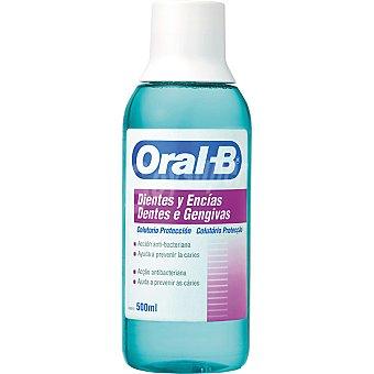 Oral-B Enjuague bucal Dientes y Encías acción anti-bacteriana y ayuda a prevenir la caries Frasco 500 ml