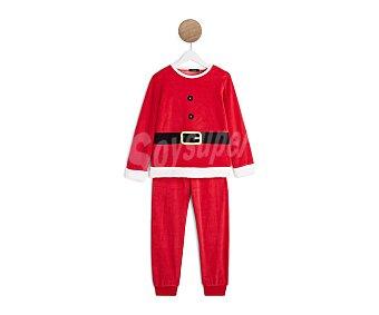 In Extenso Pijama para niño Papa noel, talla 6.