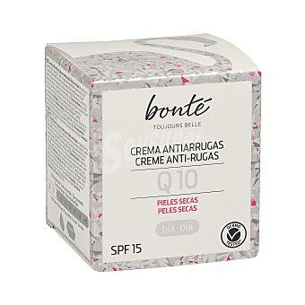 Bonté Crema facial de día Q10 antiarrugas piel seca Tarro 50 ml