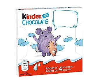 Kinder Barritas de chocolate 4 uds. 50 g