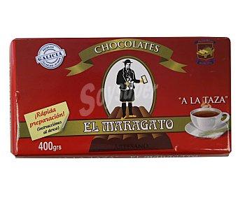 El maragato Chocolate a la taza artesano 400 g