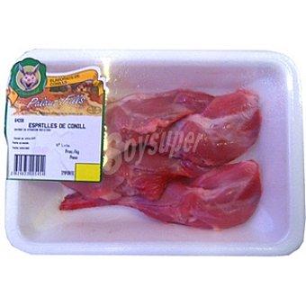 Palau Muslo de conejo peso aproximado bandeja 450 g 2 unidades