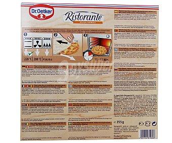 Dr. Oetker Pizza Hawaii Ristorante Estuche 355 gramos