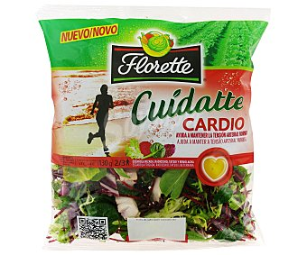 FLORETTE CUIDATTE Ensalada cardio bolsa 130 g Bolsa 130 g