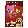 Comida perro seca tierna con carne fresca adulto razas medianas y grandes Paquete 3 kg Compy