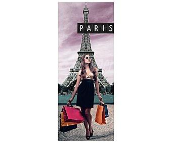 IMAGINE Cuadro con la Imagen de la torre Eiffel. Dimensiones 20x50Cm 1 Unidad