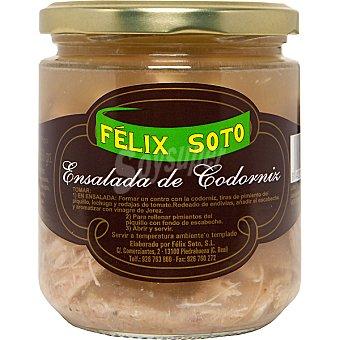 Felix Soto Ensalada de codorniz Frasco 350 g