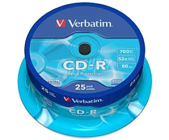 VERBATIM 25 CD-R Pack 25 cd-r 700MB 52X verbatim 25