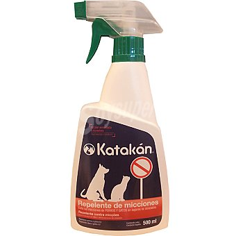 KATAKÁN Katakan repelente contra micciones en lugares no deseados de mascotas spray 500 ml Spray 500 ml