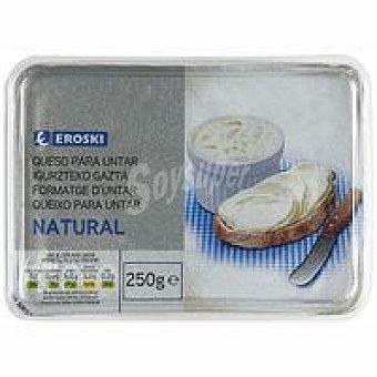 Eroski Queso de untar natural Tarrina 250 g