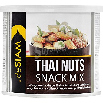 deSIAM Thai Nuts Mix de frutos secos bote 115 g bote 115 g