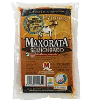 Maxorata Queso semicurado pimentón cuña 370 g