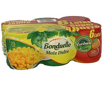Bonduelle Maíz dulce 6 unidades de 140 g