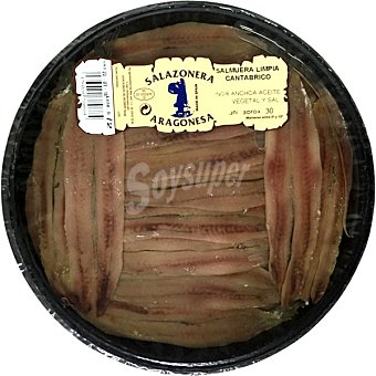 SALAZONERA ARAGONESA Salmuera del Cantabrico tarrina 145 g neto escurrido Tarrina 145 g neto escurrido