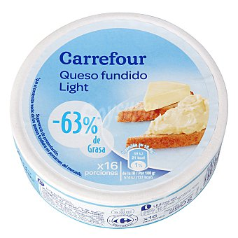 Carrefour Queso fundido Light porciones 16 ud. 250 g
