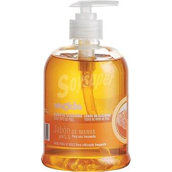 Veckia Jabón líquido de manos de glicerina pH 5.5 para todo tipo de piel dosificador 500 ml