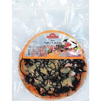 Natursoy bio pizza de tofu y algas al horno Envase 390 g