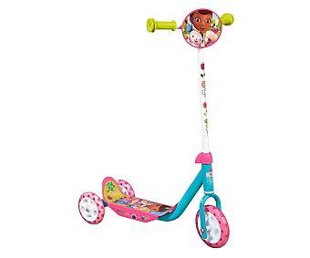 Disney Patinete infantil baby con 3 ruedas y diseño de la Doctora Juguetes, 50x12x22 centímetros 1 unidad