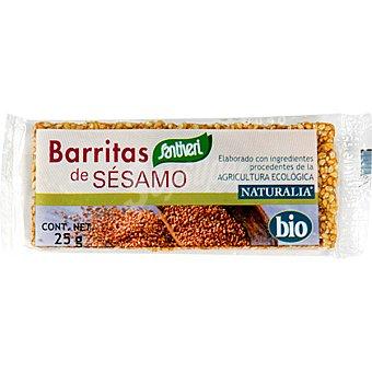 SANTIVERI NATURALIA Barritas de sésamo bio Envase 25 g