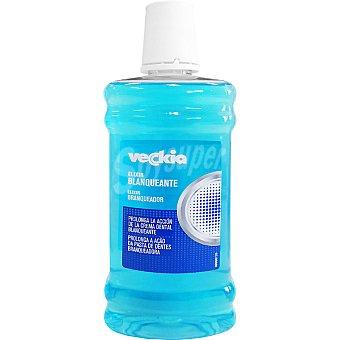 Veckia Elixir blanqueante frasco 500 ml prolonga la acción de la crema dental blanqueante