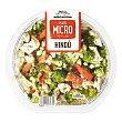 Plato hindu (calabacin, coliflor, brocoli, zanahoria, espinacas, arroz Y salsa estilo hindu) (apto microondas) Tarrina 400 g Verdifresh