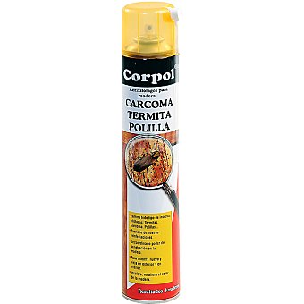 CORPOL Anticarcoma preventivo y curativo de madera Spray 650 ml