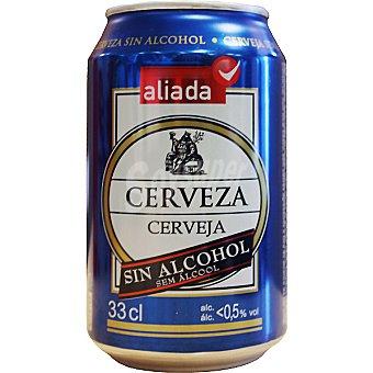 Aliada Cerveza sin alcohol Lata 33 cl