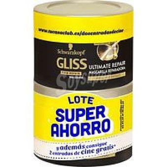 Gliss Schwarzkopf Lote mascarilla ultimate repair 400 ml