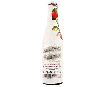 CHÉRIE Cerveza combinada de trigo y sabor cereza Botella de 33 centilitros