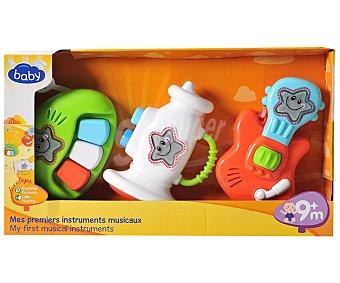 Baby Conjunto de tres Mini Instrumentos Musicales 1 Unidad