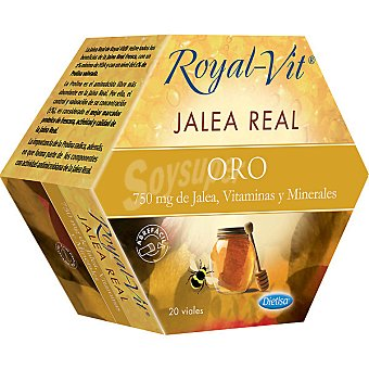 ROYAL-VIT Jalea real oro estuche 20 ampollas