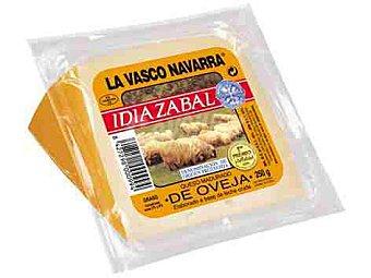 La Vasco Navarra Queso de oveja idiazabal en cuña con denominación de origen protegida 250 gramos