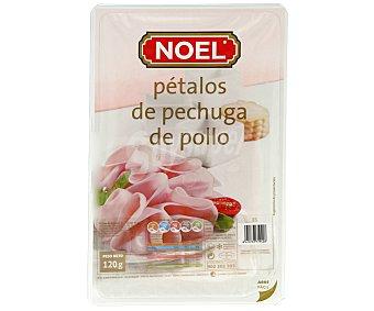 Noel Pétalos de pechuga cocida de pollo 120 gramos