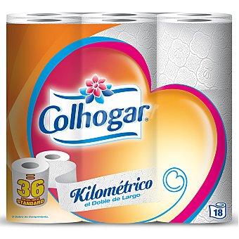 Colhogar Papel higiénico Kilométrico 18 rollos