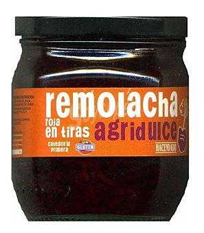 Hacendado Remolacha tiras Tarro 185 g escurrido