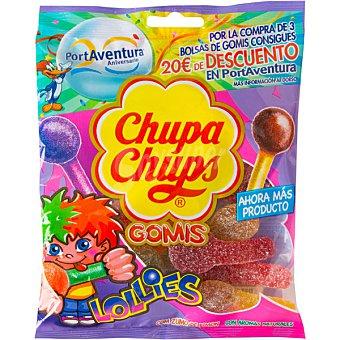 CHUPA CHUPS GOMIS Lollies con zumo de limón y aromas naturales  bolsa 175 g