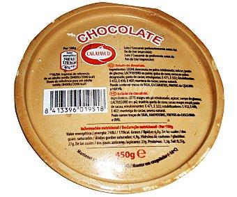 Calatayud Helado de chocolate Tarrina 1 litro